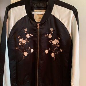 Jackets & Blazers - flower bomber jacket